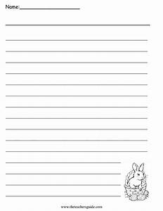 Easter printouts from the teacher39s guide for Writing templates for 3rd grade