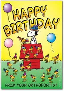 Snoopy Happy Birthday Cards