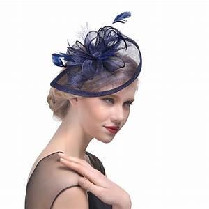 Chapeau Anglais Femme Mariage : chapeau bleu ~ Maxctalentgroup.com Avis de Voitures