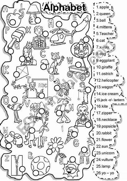 Puzzle Criss Alphabet Cross Match Puzzles Printable