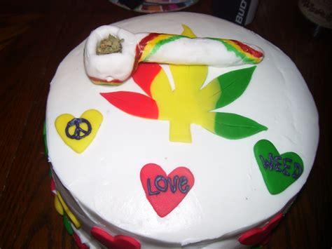 420/ Rasta Birthday Cake