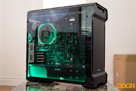 best pc case lighting phanteks enthoo evolv review tempered glass atx case