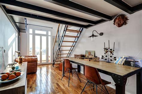 le de cuisine suspendu duplex incroyable panorama exceptionnel asnières sur