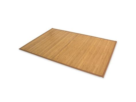 tapis en bambou brun cm  cm tap vente de