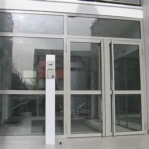 Porte D Entrée Vitrée Aluminium : bloc porte d 39 entr e vitr e en profil s acier standard 50 ~ Melissatoandfro.com Idées de Décoration