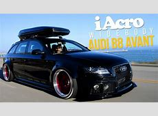 iAcrophobia WideBody Audi B8 Avant AccuAir B8 Sport Kit