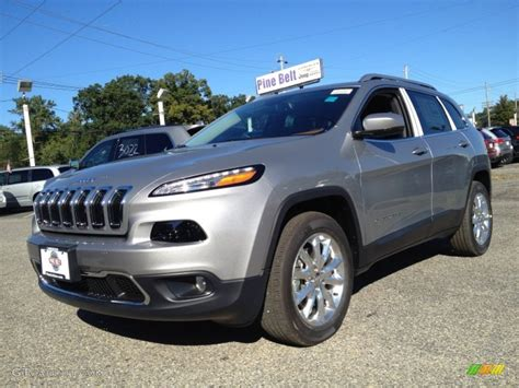 2015 jeep cherokee silver 200 interior and exterior images