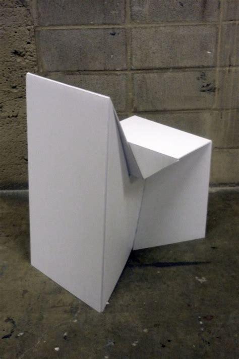 coroplast chair  rebecca cey  coroflotcom cardboard