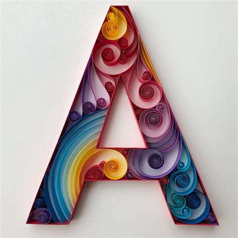 letter  quilled art home decor wall art     paper quilling patterns quilling