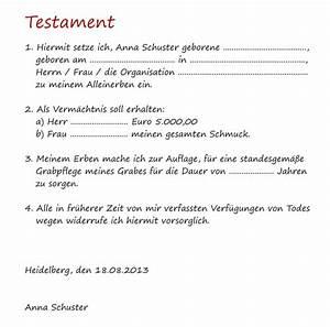 Berliner Testament Beispiel : berliner testament muster pdf to word domainslivin ~ Orissabook.com Haus und Dekorationen