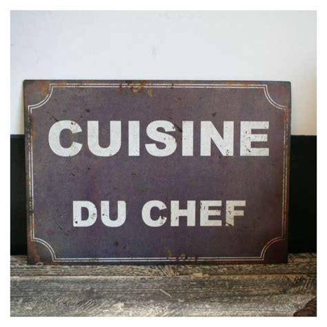 plaque deco cuisine plaque métal rétro décoration cuisine vintage antic line