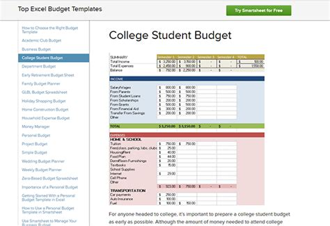 budgeting worksheets  highschool students newatvsinfo