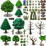 Rpg Maker Tree 2d Sprites Pixel Vx