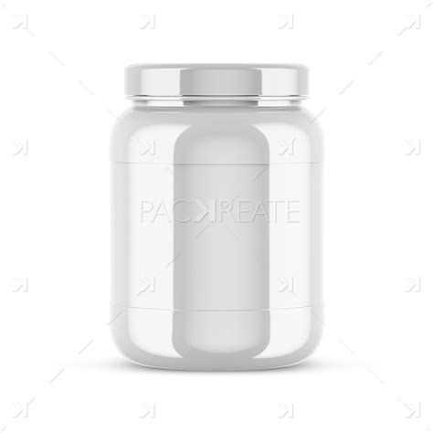 Our awesome team of designers is pledge to developing superior but affordable graphics design plastic protein jar mockup. Packreate » Glossy Plastic Protein Jar Mockup - Front View