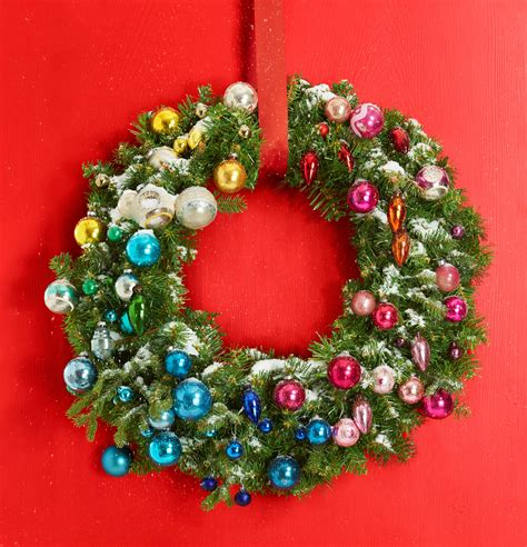48 diy christmas wreaths holiday decor and crafts