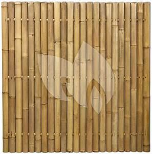 Spannbettlaken 80 X 180 : express bamboe schutting naturel 180 x 180 cm x 60 80 mm ~ Eleganceandgraceweddings.com Haus und Dekorationen