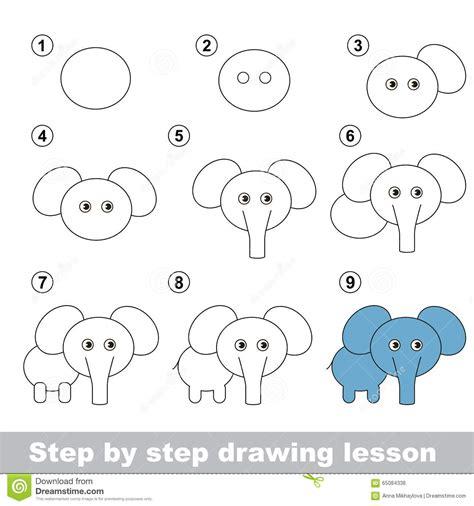 Wie Malt Einen by Zeichnendes Tutorium Wie Einen Elefanten Zeichnet