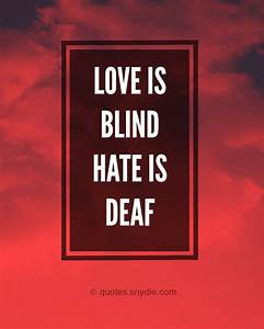 Quotes about Hate with Pictures - Quotes and Sayings