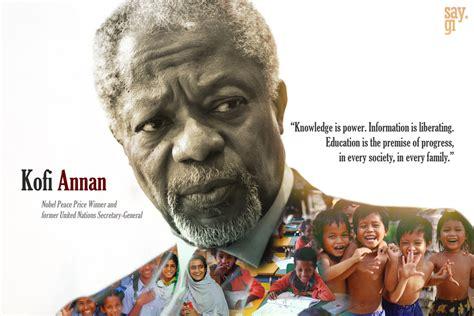 kofi annan quotes quotesgram