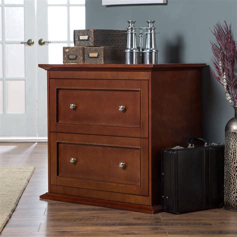 File Cabinet by Belham Living Hton 2 Drawer Lateral Wood Filing Cabinet