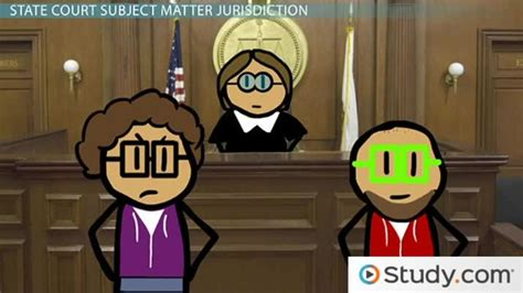 subject matter jurisdiction federal state  concurrent