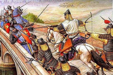 mongol invasion  hungary weapons  warfare