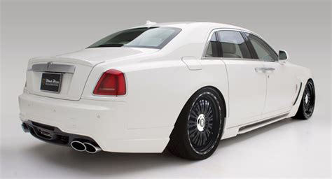 rolls royce sport car rolls royce ghost sports line black bison by wald