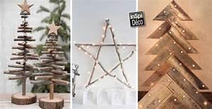 Décoration De Noel à Fabriquer En Bois : d co de noel en bois laissez vous inspirer avec ces 20 ~ Voncanada.com Idées de Décoration