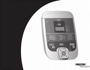Precor Treadmill 954i User Guide
