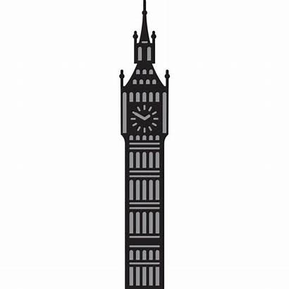Ben Clipart Silhouette London Clock Drawing Outline
