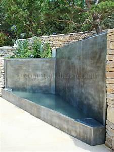 Fontaine Mur D Eau Exterieur : fontaines jardins le comptoir du zinc ~ Premium-room.com Idées de Décoration