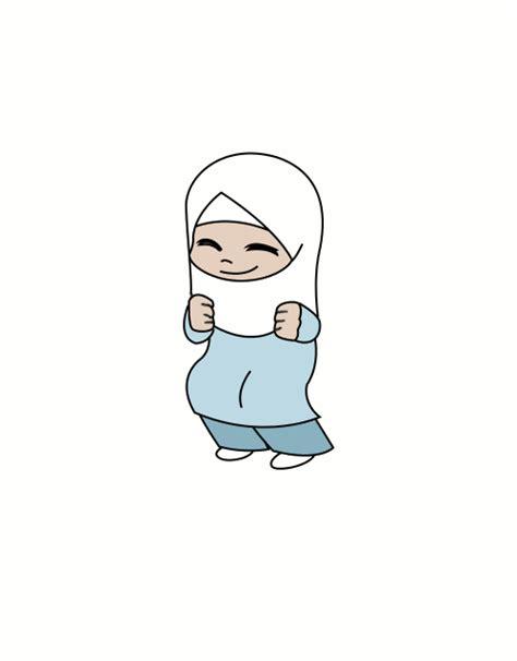 anime islam bergerak 19 gambar kartun islami romantis sedih anak lucu bergerak