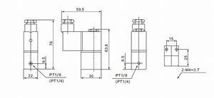 Pneumatic Solenoid Valve  2 Way  12v  24v  110v  220v