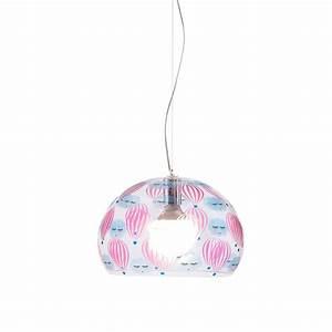 Luminaire Kartell : luminaire pour chambre d 39 enfant fl y small de kartell ~ Voncanada.com Idées de Décoration