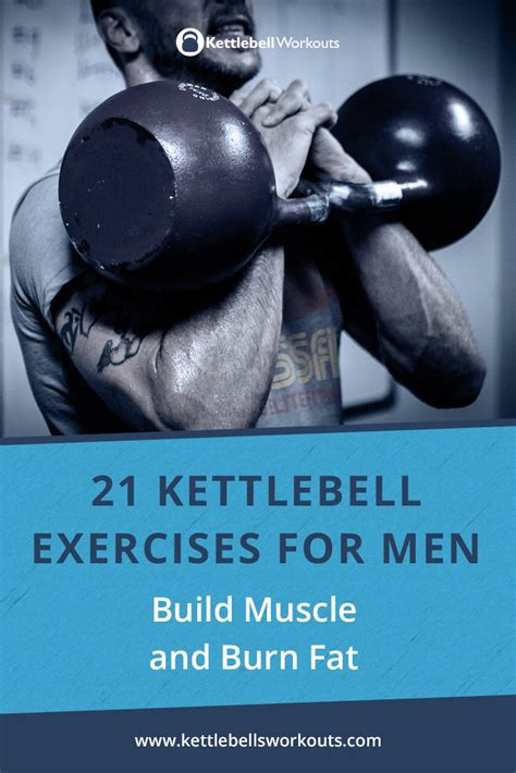 kettlebell exercises fat muscle burn build muscular lean appearance create
