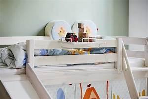 Flexa Halbhohes Bett : flexa halbhohes bett classic mit rutsche und schr gleiter interismo onlineshop ~ Eleganceandgraceweddings.com Haus und Dekorationen