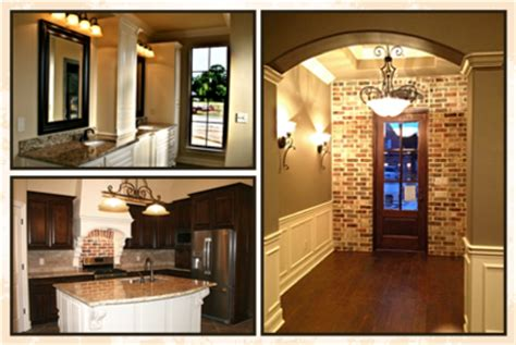 French Style Homes Interior - contact acadian dream homes
