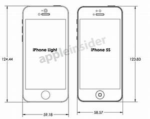 Maße Iphone 6 : design drawings reveal case makers 39 expectations for iphone 5s and lower cost iphone macrumors ~ Markanthonyermac.com Haus und Dekorationen