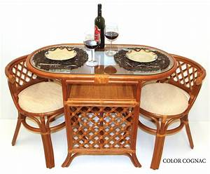 Rattan Lounge Set : dining lounge set borneo oval table 2 chairs handmade rattan wicker colonial ebay ~ Orissabook.com Haus und Dekorationen