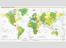 Zeitzonen Geographie, Geografie, Geography