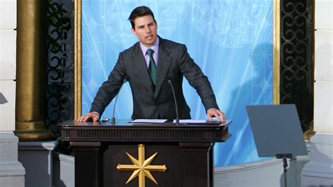 tom cruise breaks silence  scientology