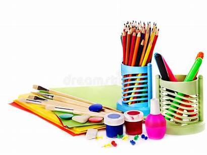 Supplies Office Royalty Isolated Paint Dreamstime