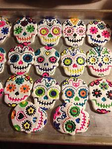 salt dough dias de les muertes - Red Ted Art's Blog