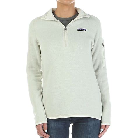 patagonia better sweater womens patagonia 39 s better sweater 1 4 zip mountain steals