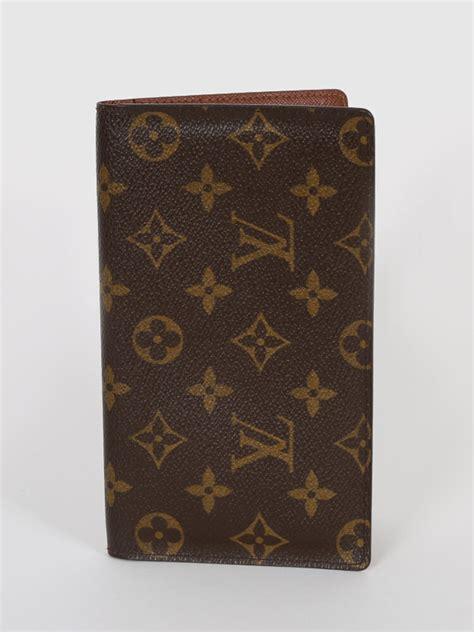 louis vuitton pocket agenda cover monogram canvas luxury bags