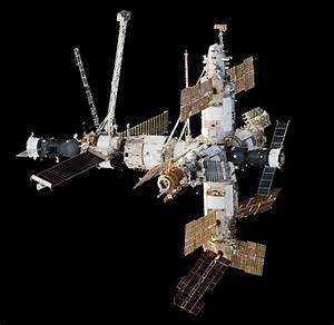 Mir Satellite Russian Space Station Wood Model Replica ...