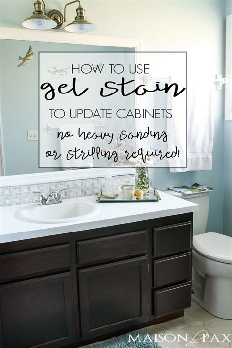 how to restain kitchen cabinets yourself diy gel stain cabinets no heavy sanding or stripping 8891