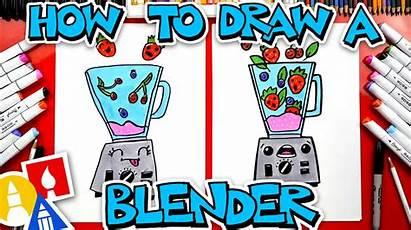 Draw Blender Funny Hub Artforkidshub Learn Friend