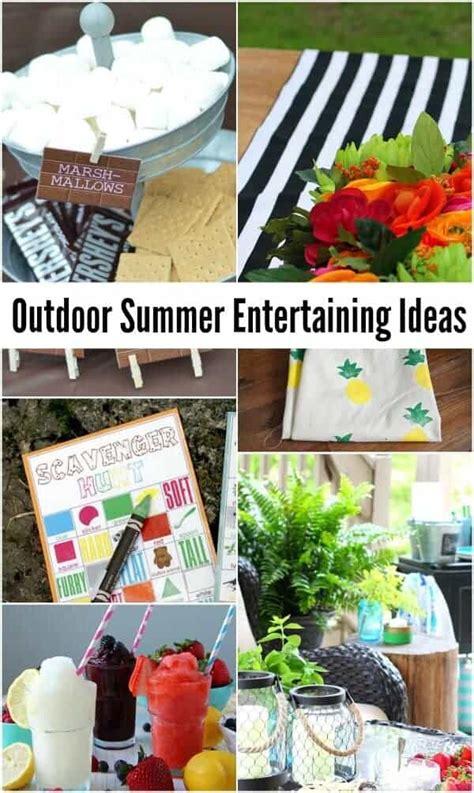 Entertaining Ideas by Summer Entertaining Ideas Princess