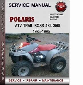 Polaris Atv Trail Boss 4x4 350l 1985